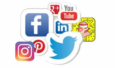 Find us on Facebook, Twitter, Instagram, Google Plus, YouTube, LinkedIn